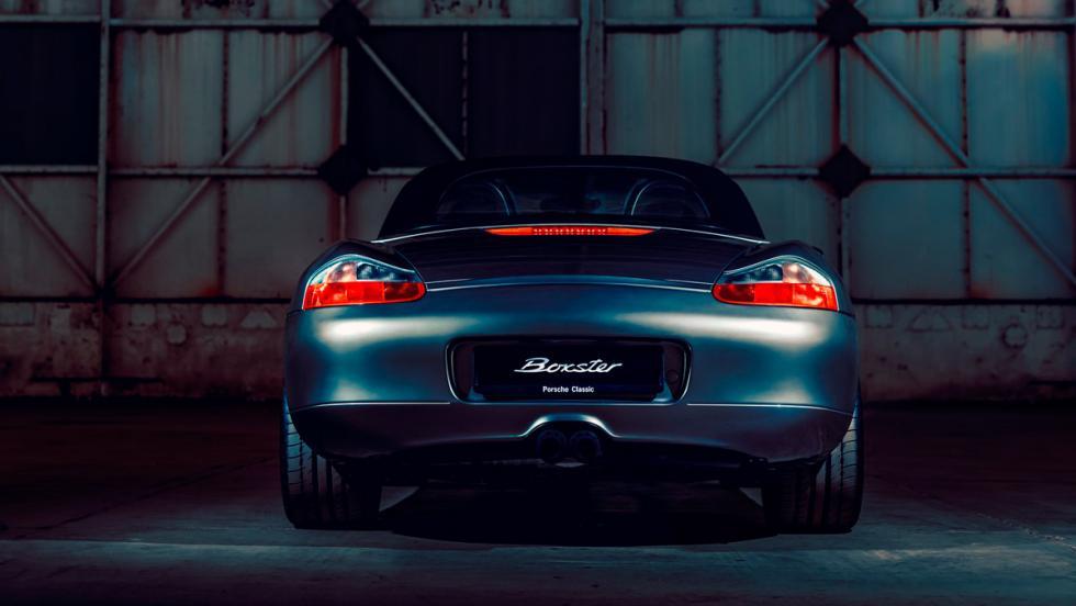 Porsche Boxster (trasera)