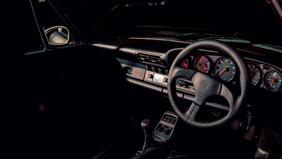 Porsche clásico (interior)