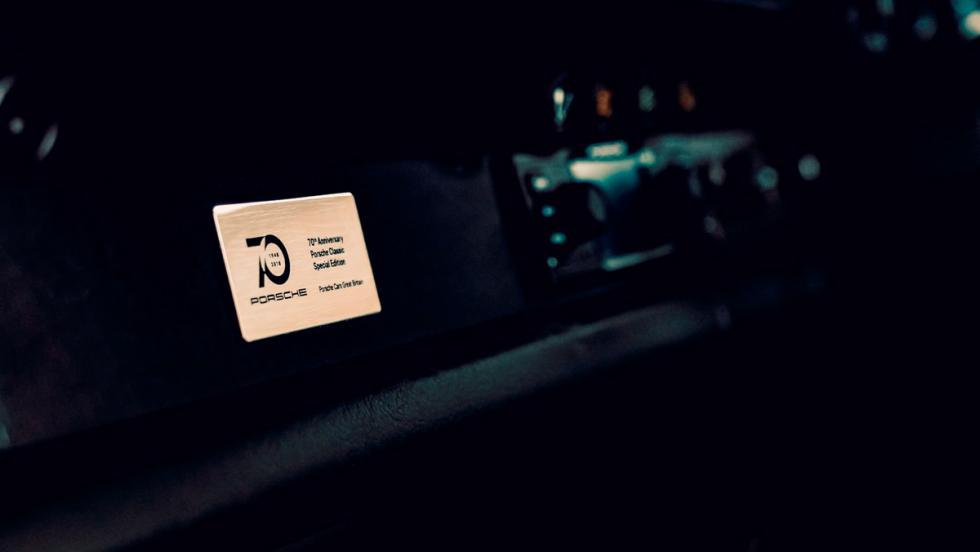 Porsche clásico (placa)
