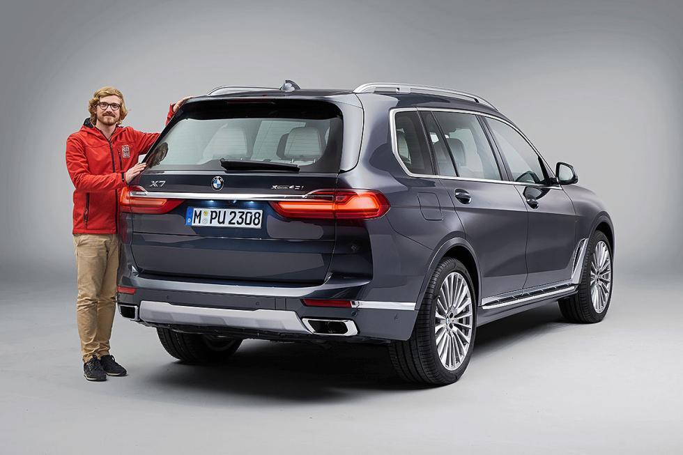 Prueba del BMW X7
