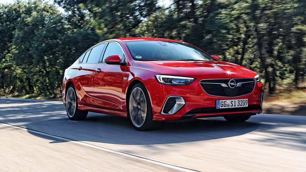 Prueba Opel Insignia GSI