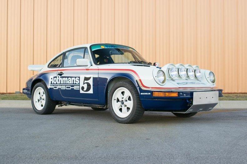 Réplica del Porsche 911 SCRS Rothmans Safari de 1983