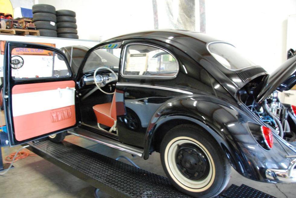 VW Beetle millón de euros