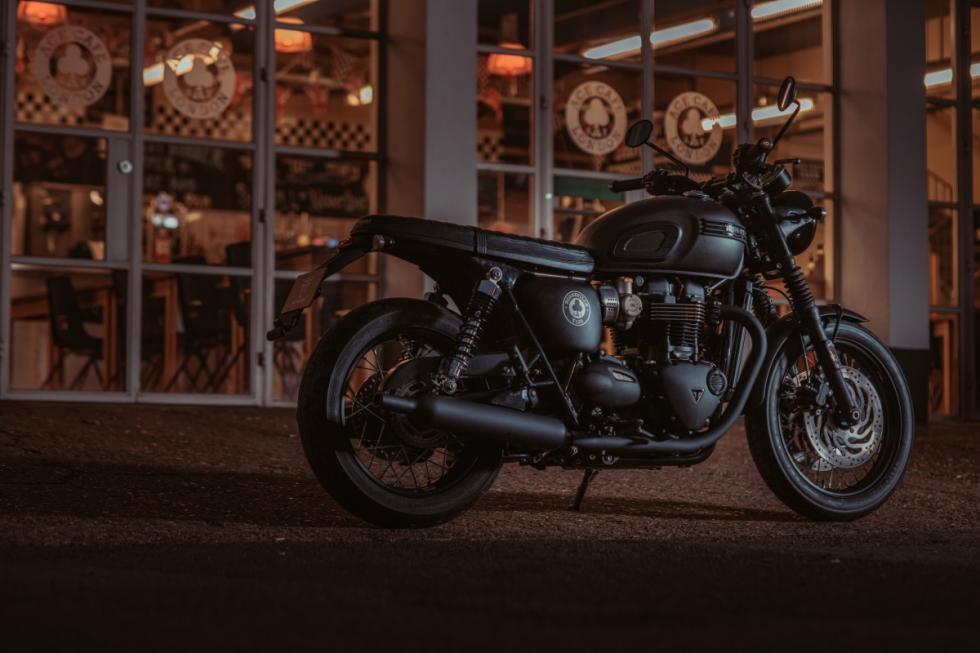 Nueva Triumph Bonneville Ace