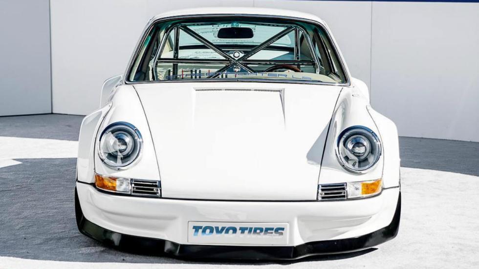 Porsche 911 con motor Tesla