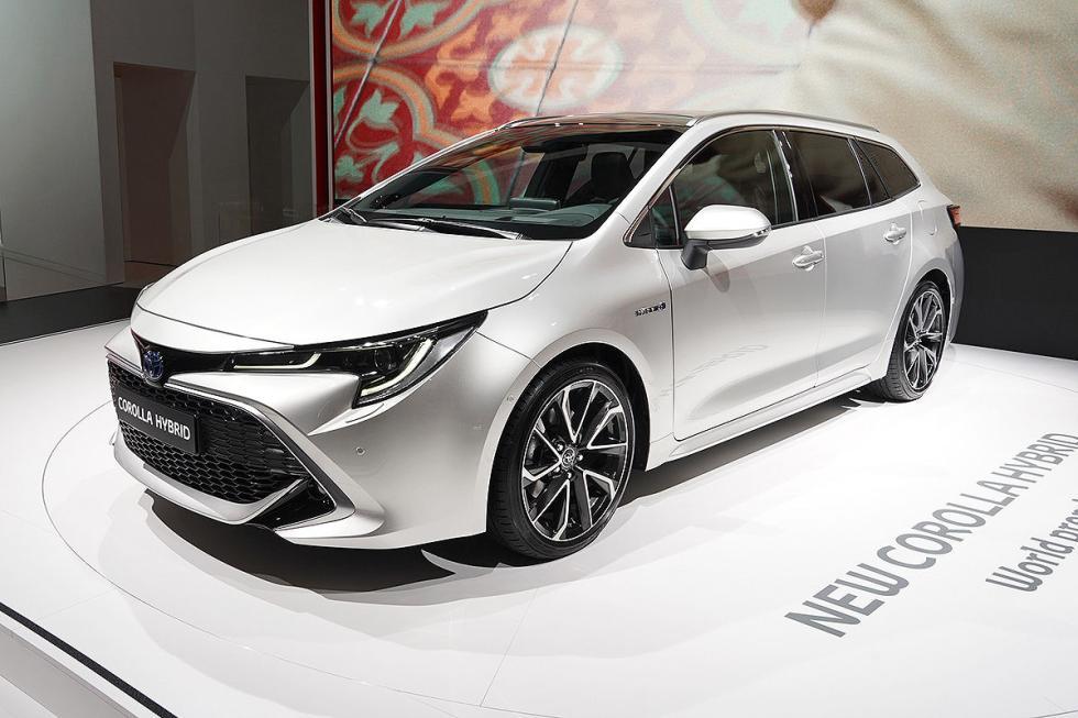 Prueba del nuevo Toyota Corolla.