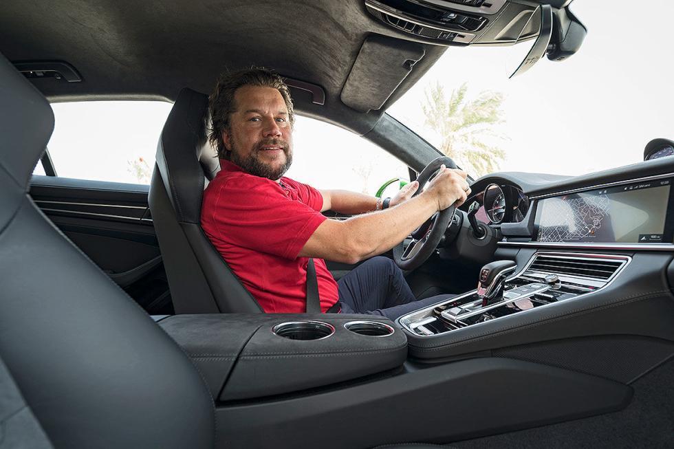 Prueba del Porsche Panamera GTS Sport Turismo