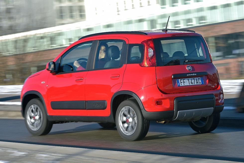 Suzuki Jimny vs Fiat Panda 4x4