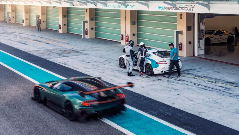 Aston Martin Vulcan, circuito