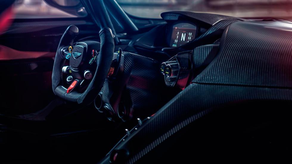Aston Martin Vulcan, interior