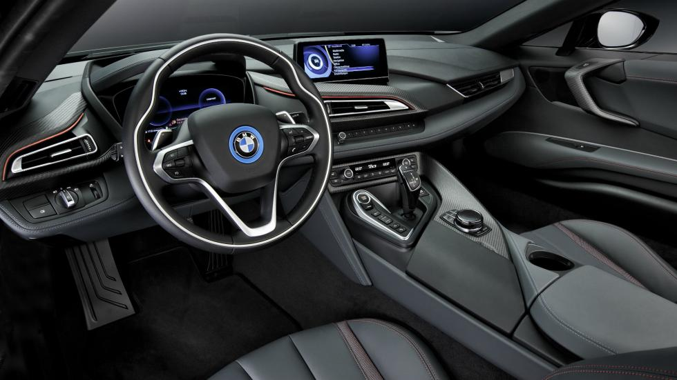 BMW i8 Protonic Red Edition interior