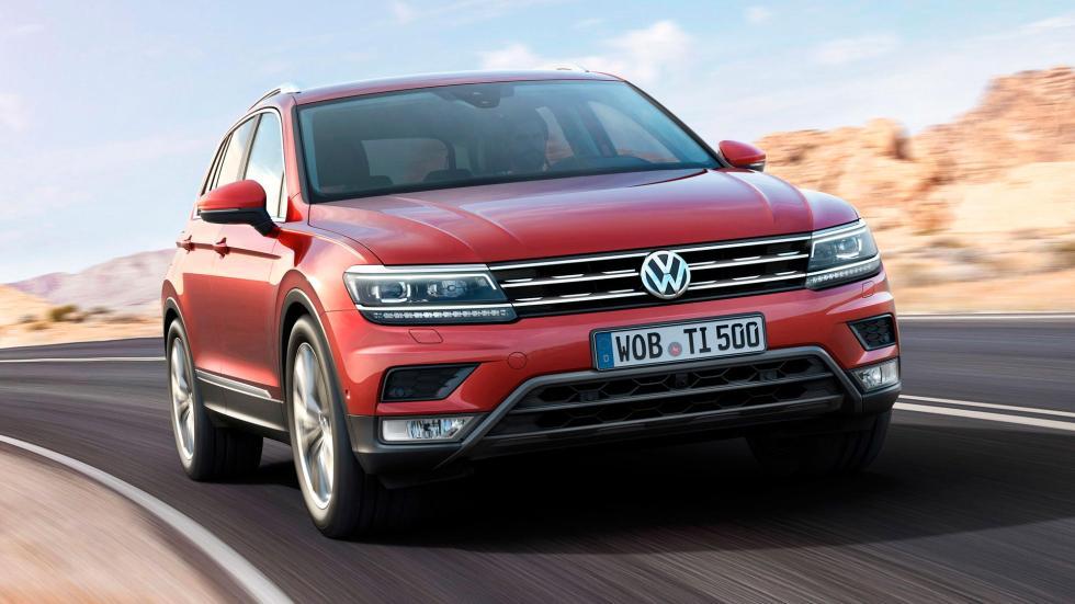 Nuevo Volkswagen Tiguan, frontal