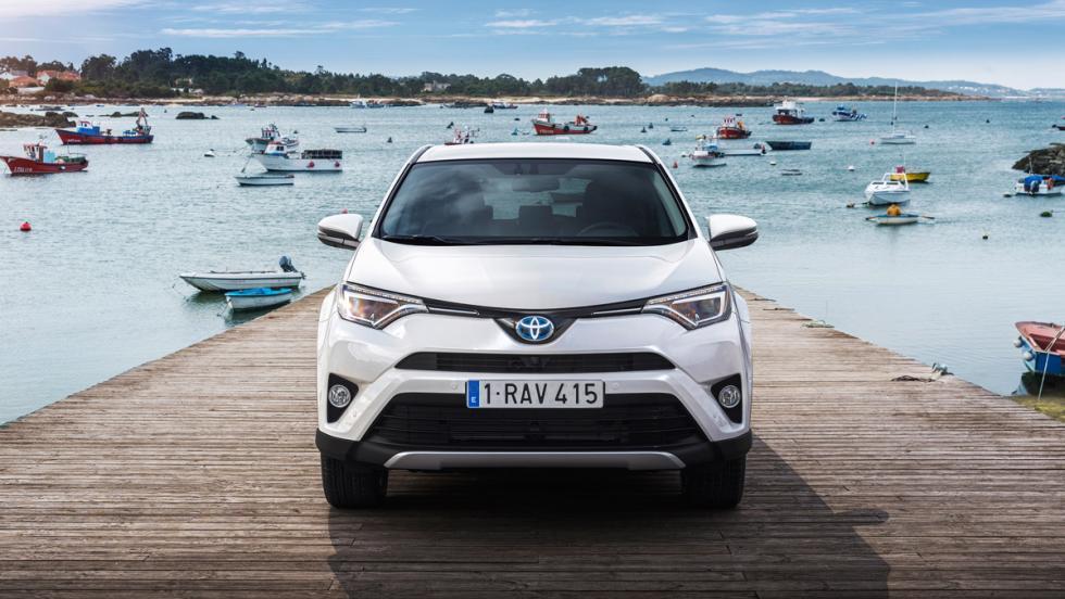 Toyota RAV4 Hybrid, frontal