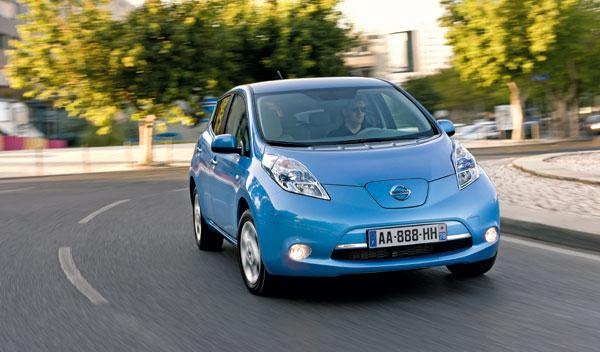 Nissan Leaf frontal