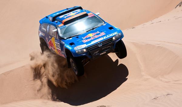 Sainz pierde el liderato del Dakar a manos de Al-Attiyah
