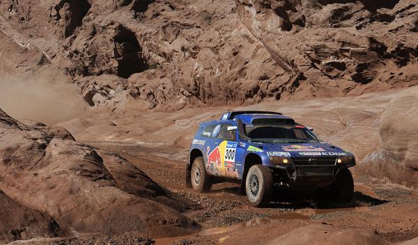Carlos Sainz Race Touareg 3 Dakar 2011