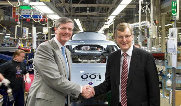 Fotos: Saab reanuda la producción de automóviles