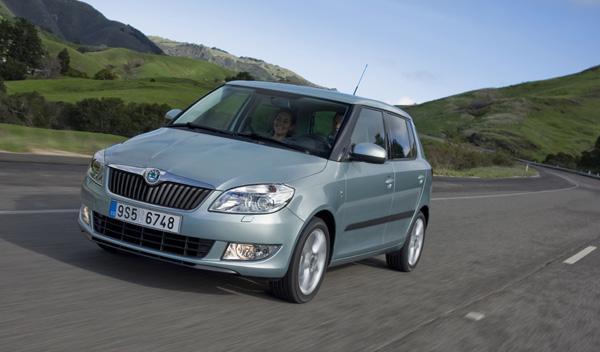 Fotos: Nuevos motores y diseño para los Škoda Fabia, Fabia Combi y Roomster