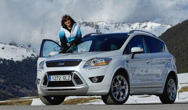 Fotos: Ford Kuga Baqueira-Beret: un todocamino muy esquiador