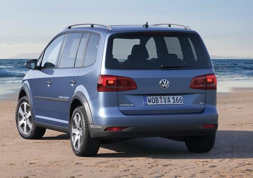 Fotos: Volkswagen CrossTouran: no te quedes en casa
