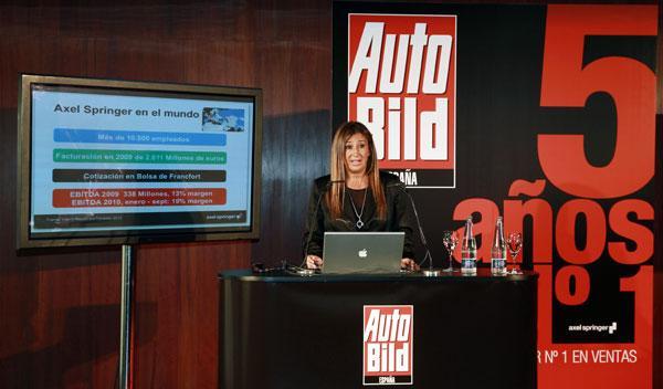 Fotos: La revista AUTO BILD celebra su quinto aniversario