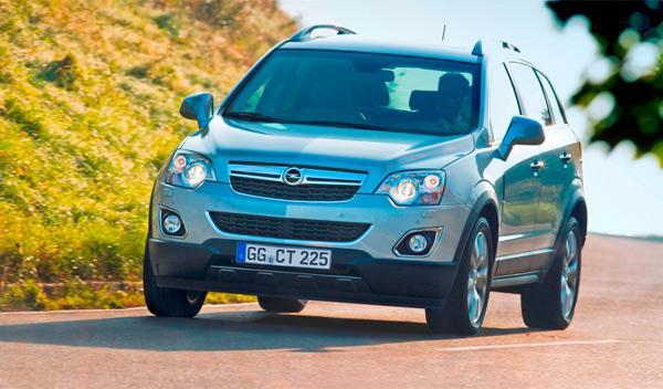 Fotos: Opel Antara: nuevos motores y pequeños cambios estéticos