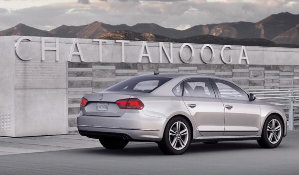 Fotos: Volkswagen Passat: el más grande de la historia, sólo para América