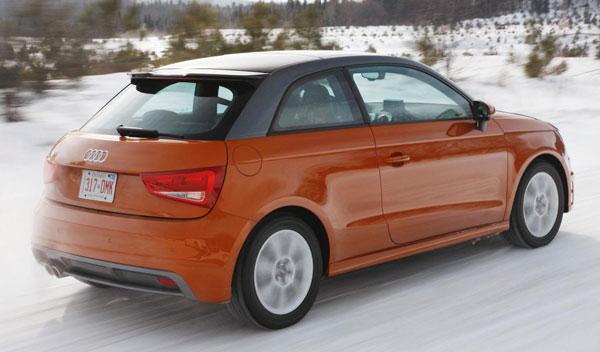Fotos: Un prototipo del Audi A1 quattro es probado en las carreteras canadienses
