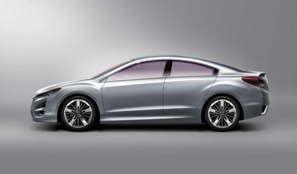 Fotos: Subaru presentará el Impreza Concept en el Salón de Ginebra