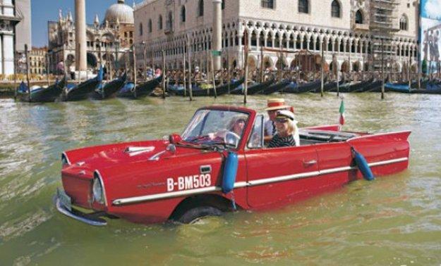 De paseo por los canales de Venecia