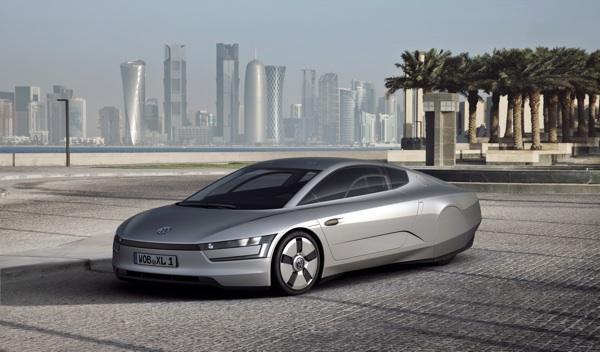 VW XL1 tres/cuartos