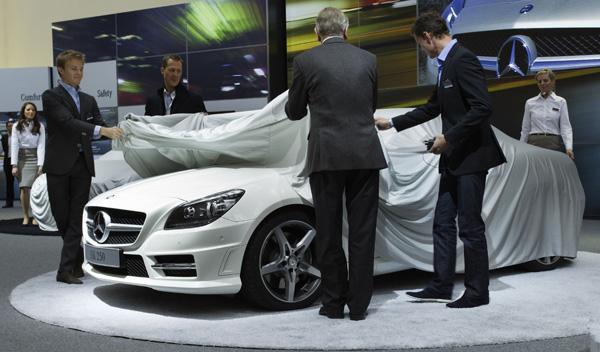 Nuevo Mercedes SLK, Rosberg, Schumacher y Coulthard