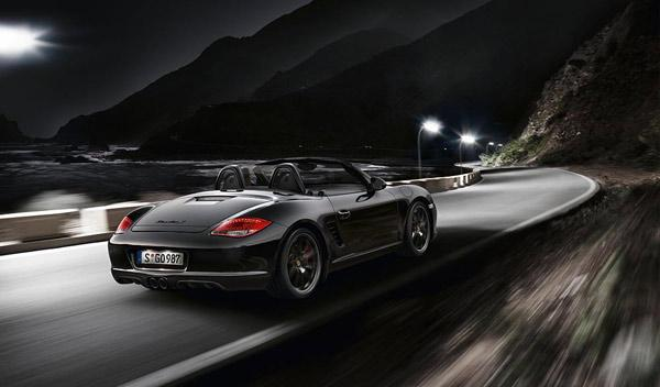 Porsche Boxster S Black Edition trasera