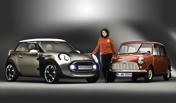 Mini Rocketman Concept y Morris Mini