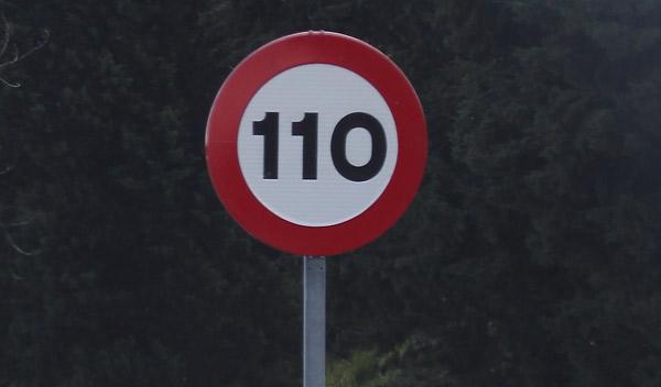 Francia copia a España y recomienda ahora circular a 110 km/h