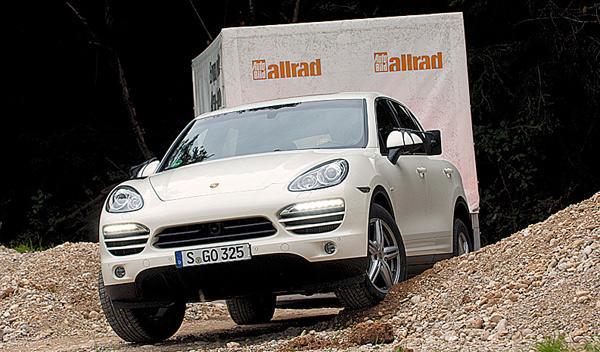 Porsche Cayenne remolque test suv 4x4