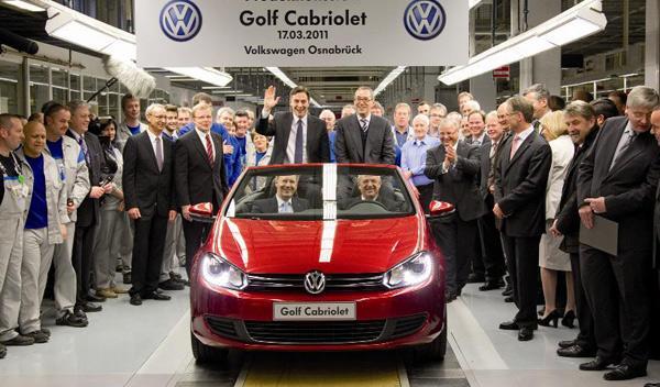 Volkswagen Golf Cabrio delantera