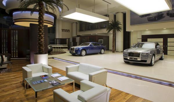 Concesionario Rolls-Royce en Abu Dhabi