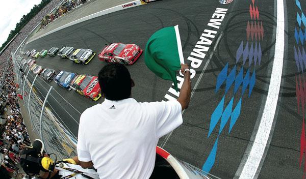 Un día en la NASCAR