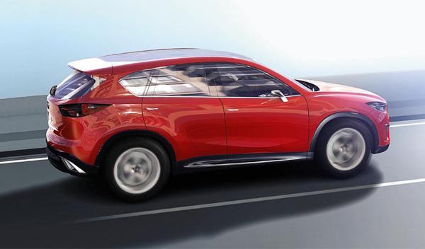 SUV futuro Mazda Minagi Kodo skyactiv