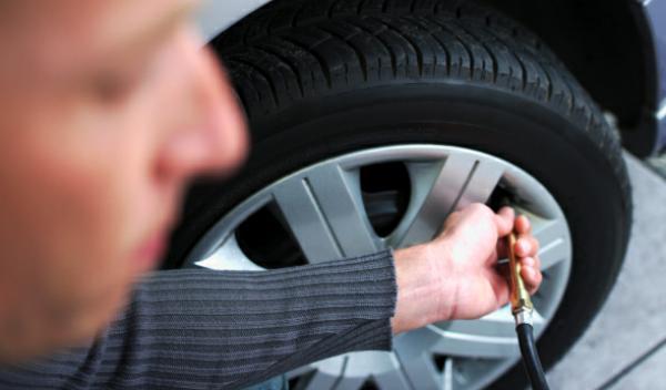 Neumáticos gastados: 600 euros de multa