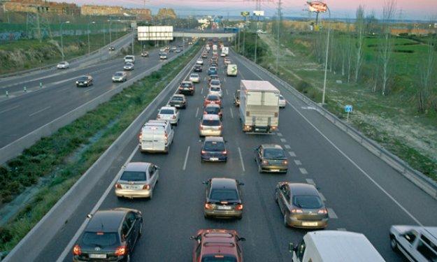 Los madrileños recorren 20 millones de kilómetros al día