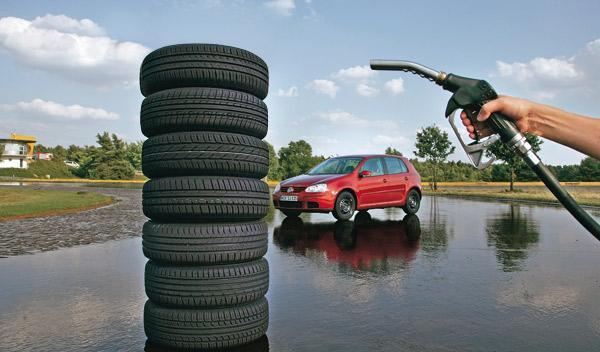 Los neumáticos eficientes ahorran hasta un 8% de gasolina