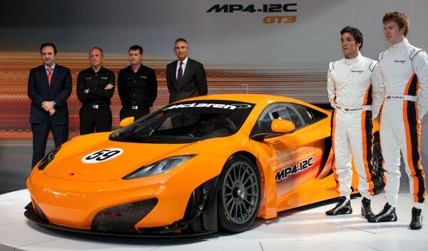 Presentación McLaren MP4-12C GT3