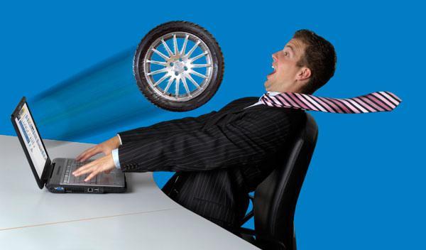 El 18% compraría neumáticos por Internet