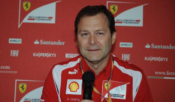 Aldo Costa, destituido de Ferrari
