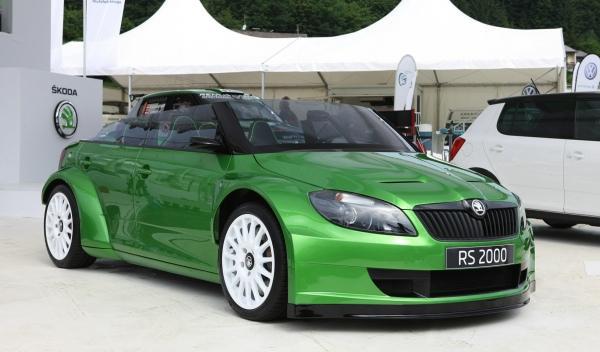 Skoda Fabia RS 2000 frontal