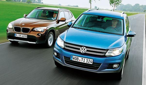 VW Tiguan vs BMW X1