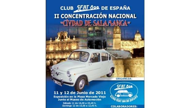 Los Seat 800 se concentran en Salamanca