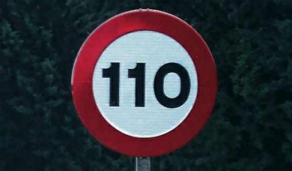 Doce países europeos tienen como límite 130 km/h
